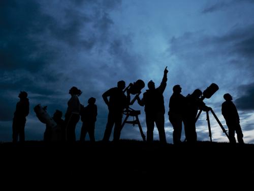 Observación astronómica adultos - III Jornadas Medioambientales