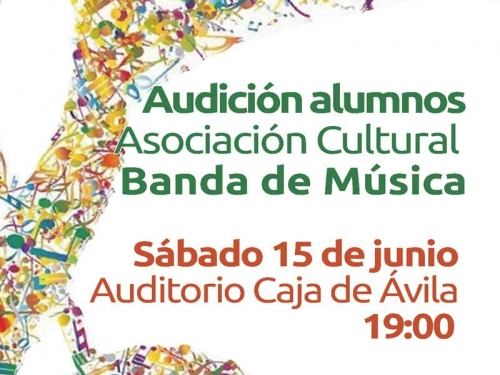 Audición de los alumnos de la Banda de Música Las Navas del Marqués