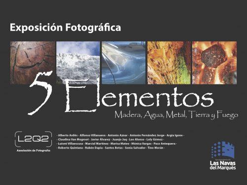 Exposición de Fotografía 5 Elementos