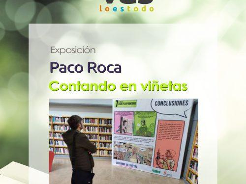 Exposición Contando en viñetas