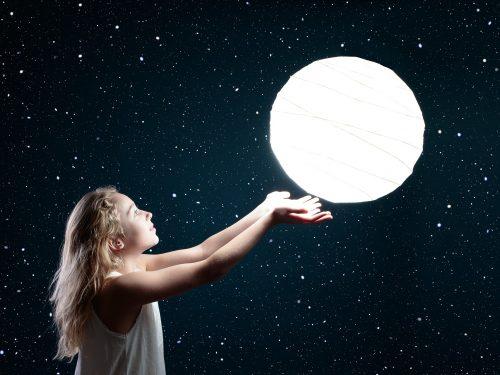 Observación astronómica niños - V Jornadas Medioambientales