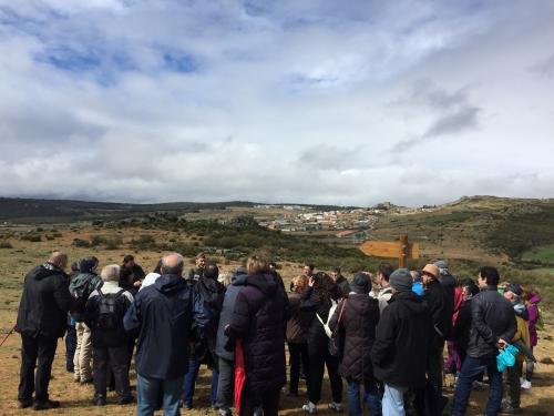 Paisajes de Fortines y Trincheras, nace una nueva ruta en Las Navas del Marqués