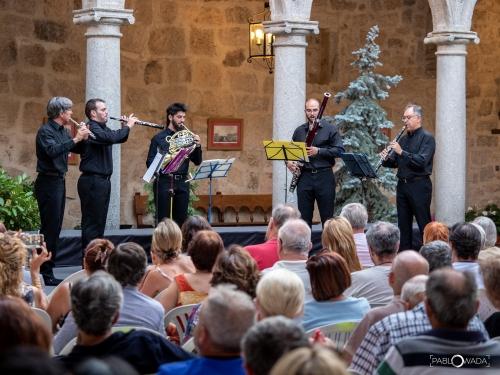 Más de 5.000 espectadores y 23 actuaciones en el X Festival Internacional de Música de Las Navas del Marqués