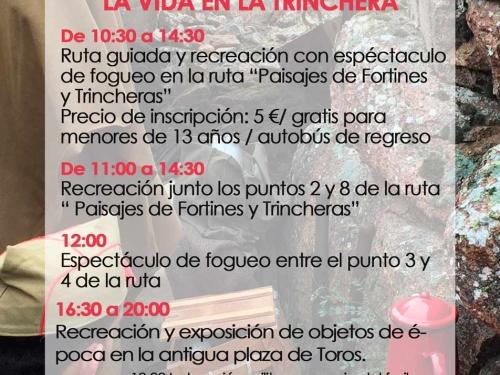 Las trincheras de Las Navas del Marqués cobran vida el 5/OCT