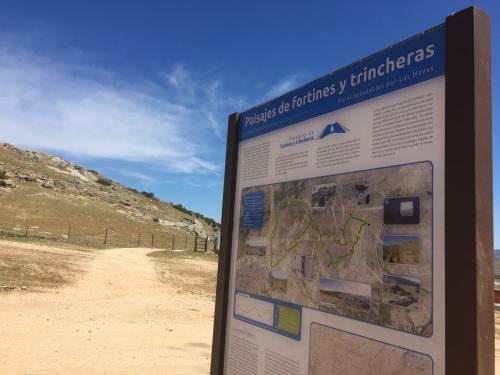 Paisajes de Fortines y Trincheras